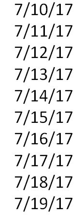 palindrome week, palindrome date, numbers, dates
