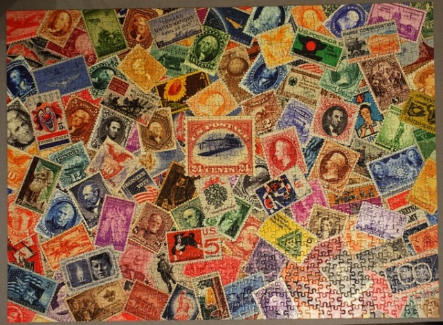Smithsonian Stamp Puzzle, puzzles, stamps
