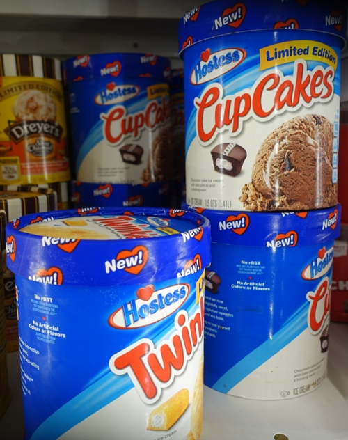 Twinkies Ice Cream, CupCakes Ice cream, Hostess, Cold treats