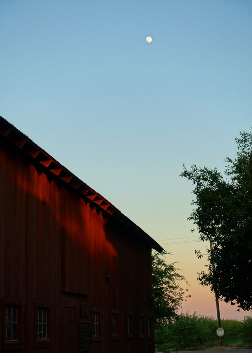 Red Barn, Moon, Country, Sunset Pictures