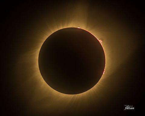 Paul Julian, Total Eclipse, Nebraska