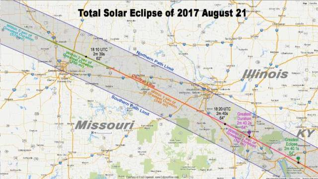 eclipsewise.com, Missouri, eclipse, path of totality