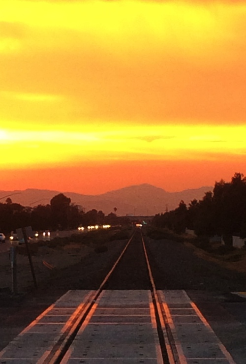 Mount Diablo Sunset, Tracy, California, Great Valley