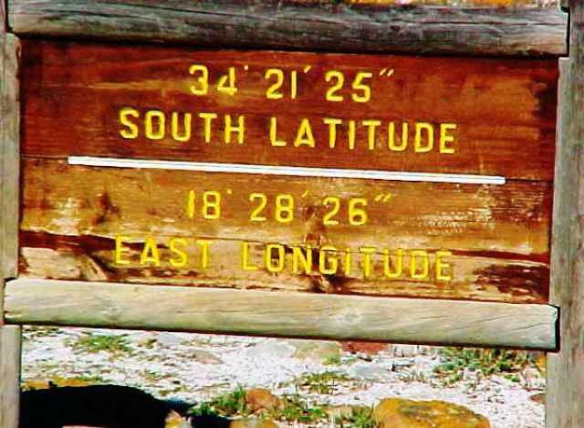 Cape Hope, Furthest South, Africa, Geographic Extremes