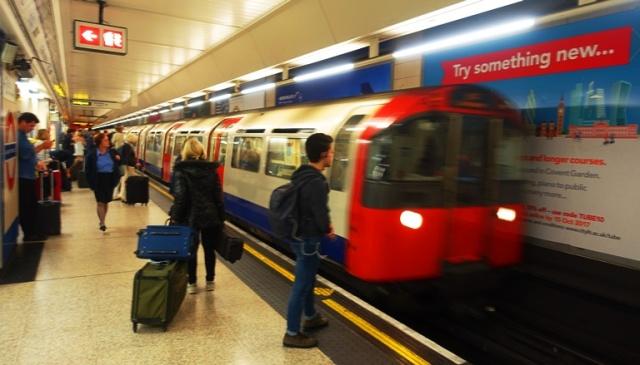 London Underground, Tube, Heathrow Station, Subway
