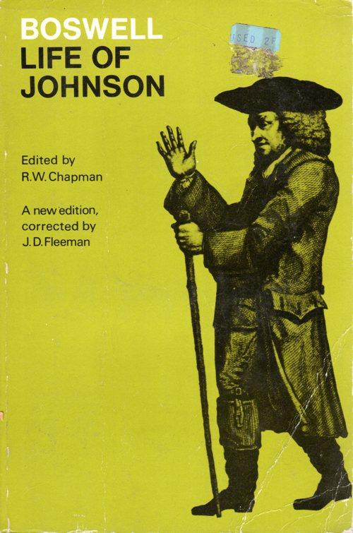 Life of Johnson, Samuel Johnson, James Boswell