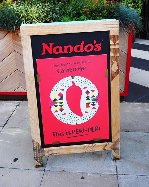 Nando's Fix, Nando's, Peri Peri Chicken, chicken chains, Cambridge