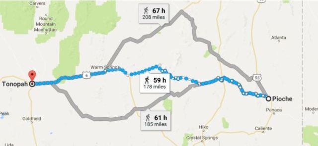 Pioche, Nevada, Tonopah, Virtual Hike
