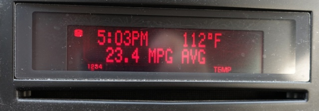 112 degrees, September 1, 5 PM, Livermore
