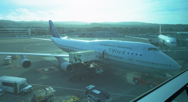 United Airlines, 747 Friend Ship, Flight 747, San Francisco to Hawaii