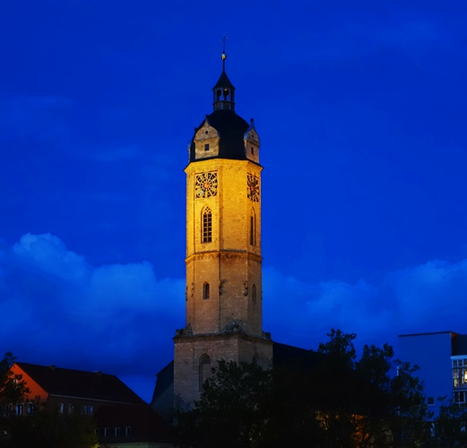Stadtkirche St. Michael, Jena, Germany, Church Tower