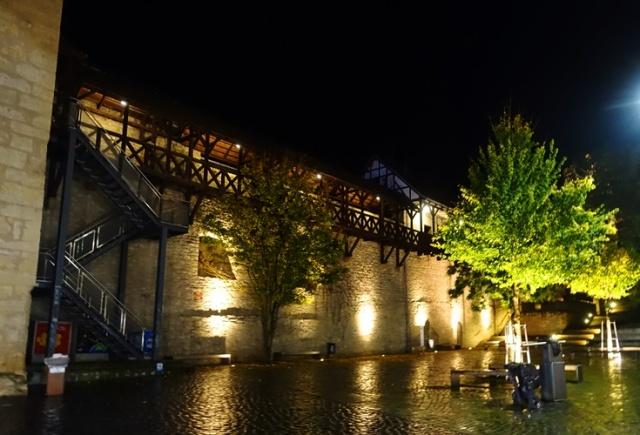 Jena City Wall, Old City, Jena Germany