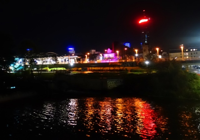 Jena Skyline, Paradies train station