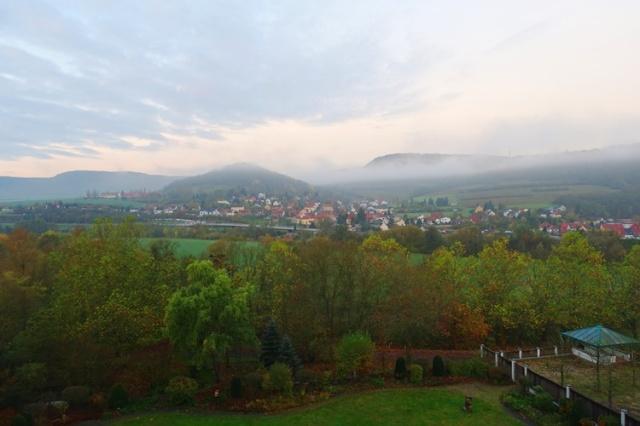 Foggy Morning, Jena Germany, Fall in Germany