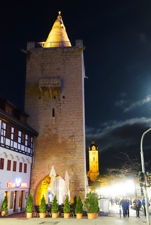 Jena, Tower, St. Michael's Church, Jena, Germany