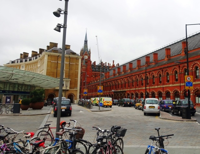 King's Cross, St. Pancreas, London Train STations