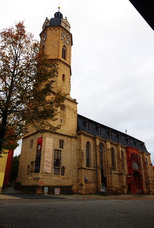 St. Michael, Jena, Germany, Stadtkirche, Martin Luther