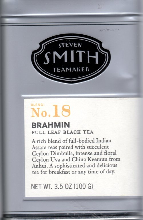 Steve Smith Teamaster, brahmin tea, loose tea, black tea