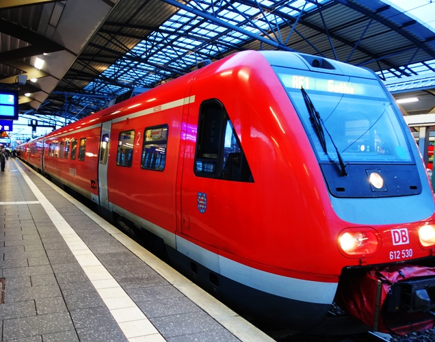 Jena, Erfurt, Germany, Trains, Regional Express, Deutch Bahn