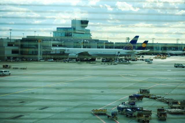 United 777, Frankfurt Airport, No More 747's