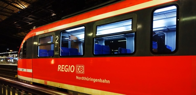 Regio bahn, Germany, trains, Erfurt, Nordthuringenbahn