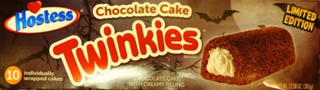 Chocolate Cake Twinkies, Chocolate Twinkies, S'Cream Filling