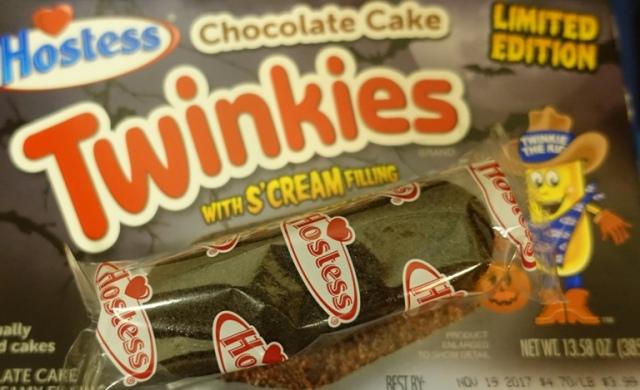 Cake Twinkies, Chocolate, Hostess, Halloween