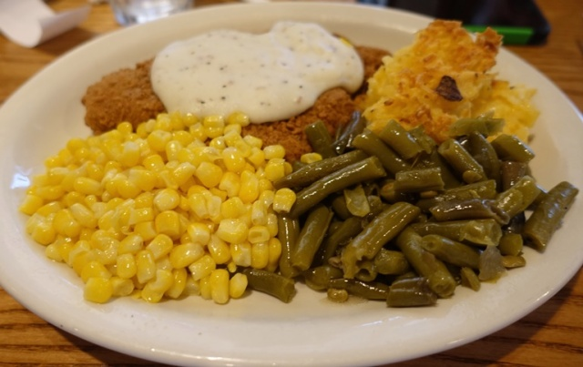 Chicken Fried Chicken, Cracker Barrel, Old Country Store, Food Fix