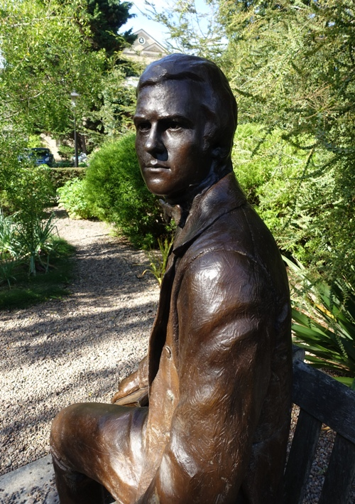 Darwin Sculpture, Cambridge, England, Alan Smith