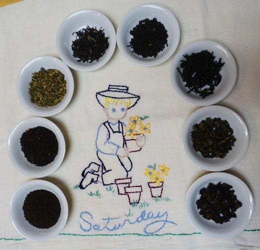 Loose tea, Saturday Tea Towel, tea, loose leaf tea, leaf tea