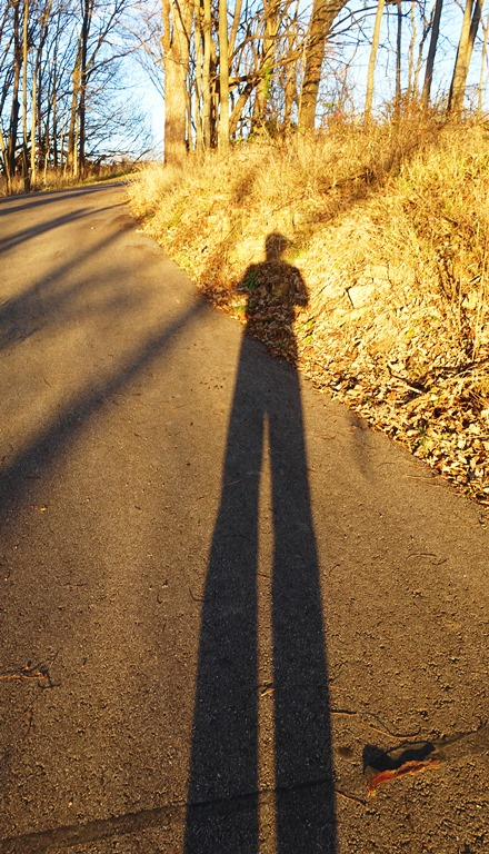 Long legs, walking, hiking, short days, evening sun