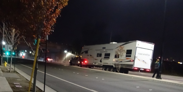 Too Tall, Low Clearance, RV, backing up