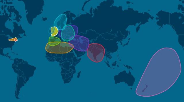 DNA Map, Ancestry, Ethnicity