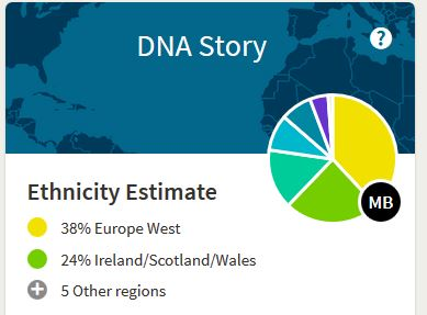 Ethnicity, DNA Story, Ancestry DNA