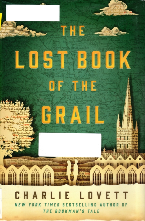 Lost Book of the Grail, Charlie Lovett, Barchester, Grail, Book Mystery