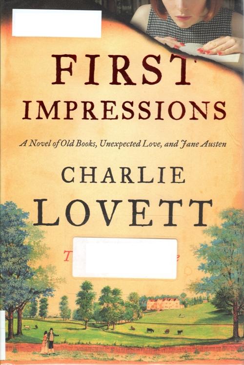 Charlie Lovett, First Impressions, Jane Austen