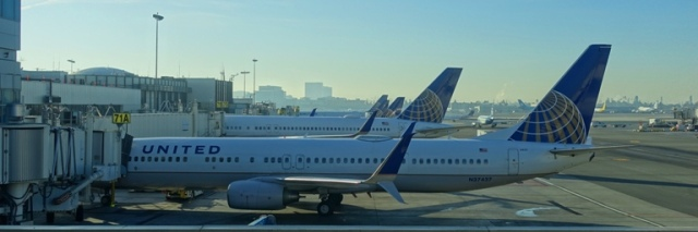 United Jets, Planes, LAX, Boarding Area