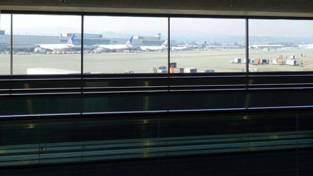 SFO Concourses, Planes, Conveyor Belts, SFO Museum