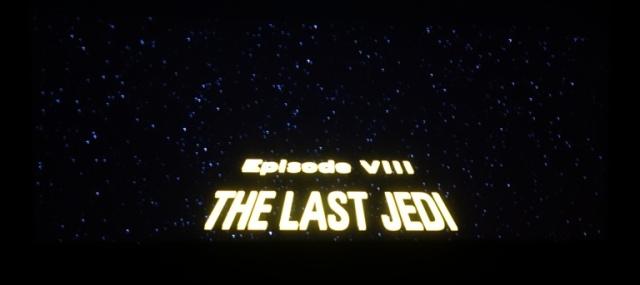 Star Wars, The Last Jedi, Episode VIII, Cinemark
