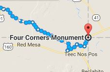 Four Corners Monument, Utah, Arizona, New Mexico, Colorado