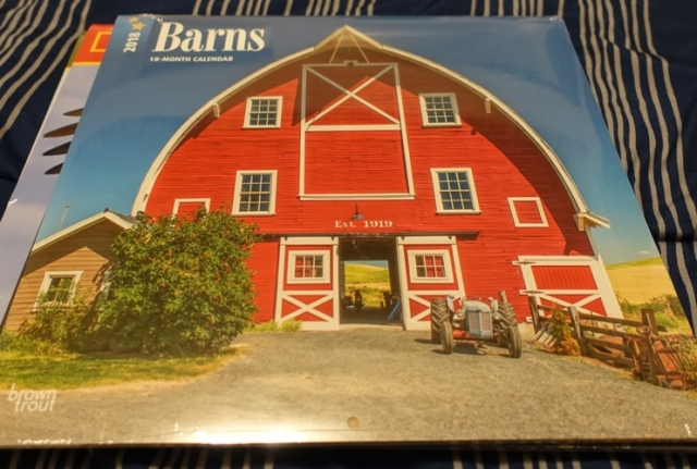 Barn Calendar, Barns, Red Barn