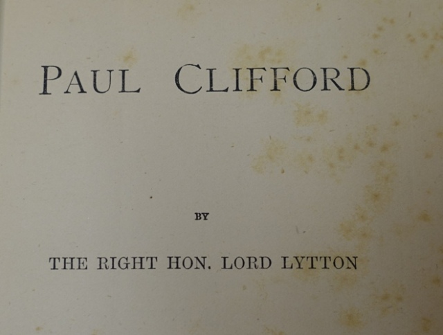 Paul Clifford, Edward Bulwer-Lytton, It was a dark and stormy night