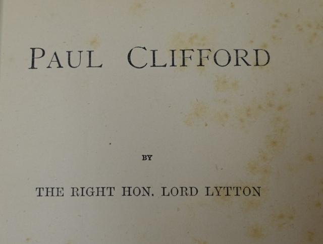 Paul Clifford, Edward Bulwer-Lytton, It was a dark and stormy night