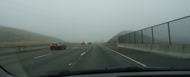Altamont Pass, Fog, Foggy Commute