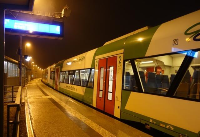 Erfurter Bahn, Regional train, Germany