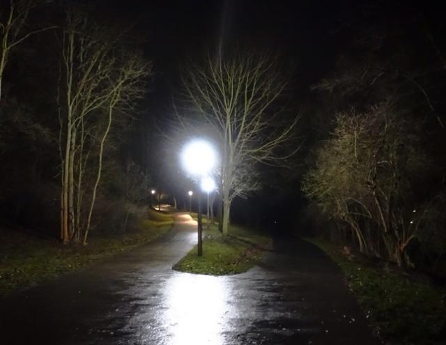 Light and Dark, Winter Walk, Jena, Germany, Walk Home