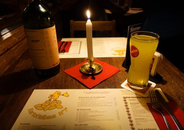 Winter Dinner, Kartofellhaus, Jena, Germany, German Food