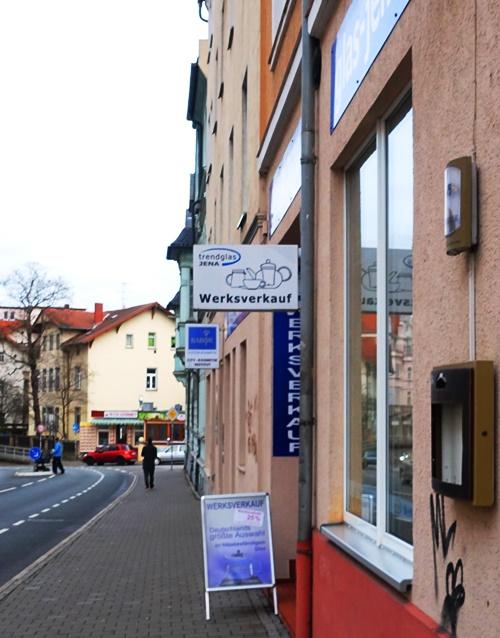 Glass Outlet Shop, Jena, Germany, TrendJena, Tea Pot