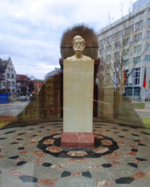 Ernst Abbe, Denkmal, Jena, Germany, History