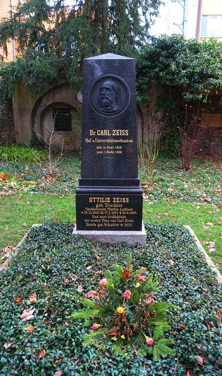 Zeiss Grave, Jena, Germany, Carl Zeiss, graveyard